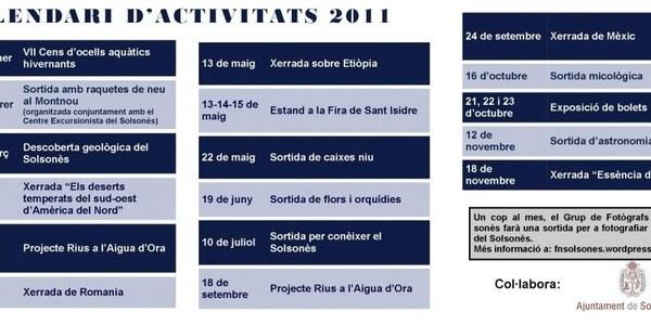 Activitats GNS 2011