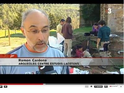 El Centre d'Estudis Lacetans (CEL) a TV3 Comarques