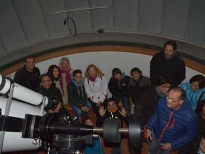 El Grup de Natura del Solsonès-secció del Centre d'Estudis Lacetans (CEL) ha organitzat aquest passat cap de setmana una sortida prop de les estrelles