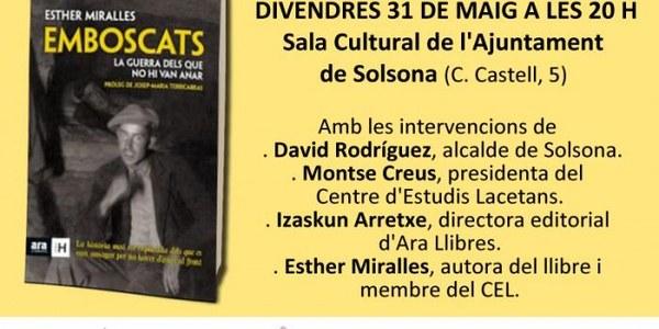 Presentació del llibre Emboscats. La guerra dels que no hi van anar.